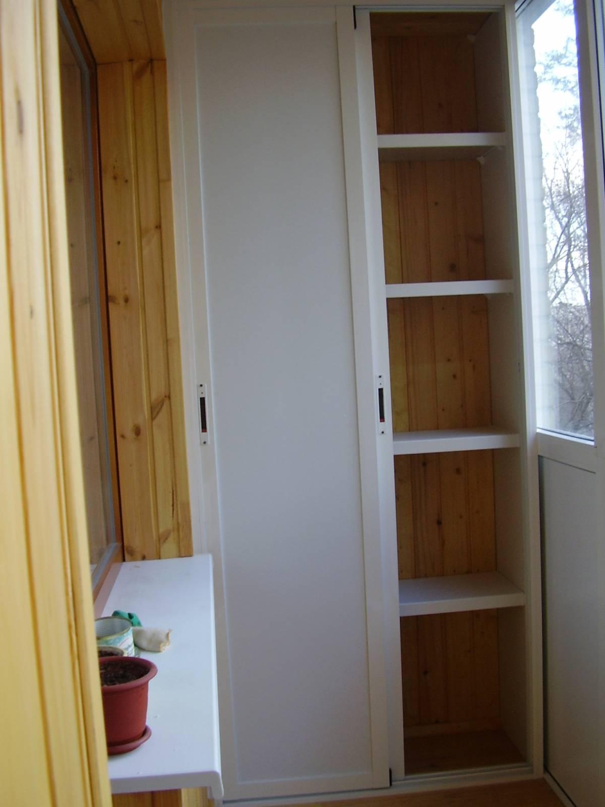Шкафы купе на балкон в москве дешево..